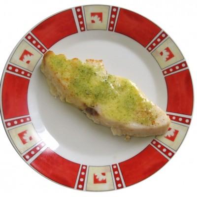 Makrela s limetkou a korenistým maslom