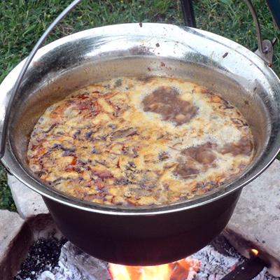 Beťárska polievka z Bakonyu – len pre silné chlapské žalúdky
