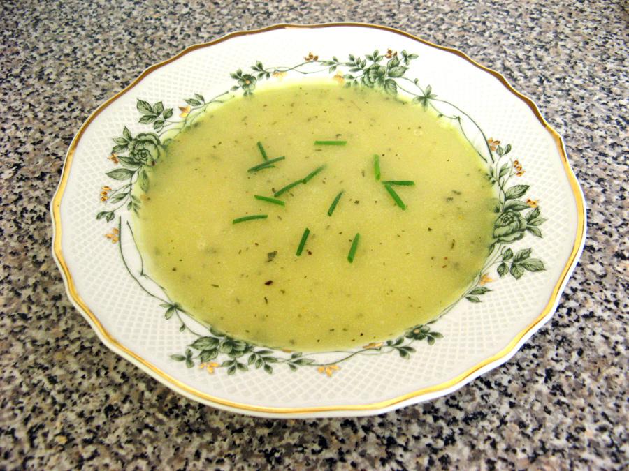 Cesnaková polievka pani Garlicovej