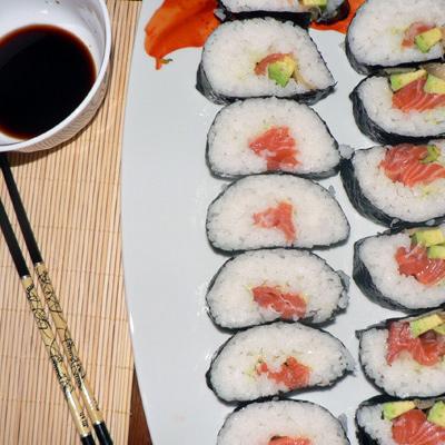 Z Bubuho kuchyne: Sushi
