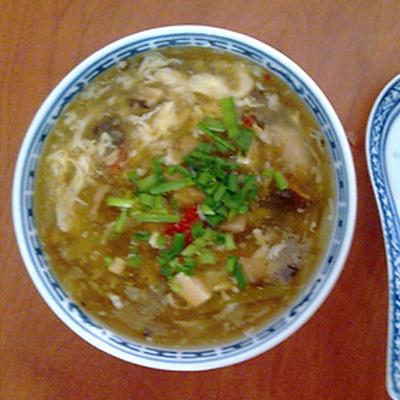 Čínska ostro-kyslá polievka a la Karči