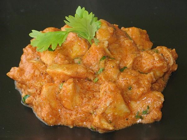 Kuracie maslové curry