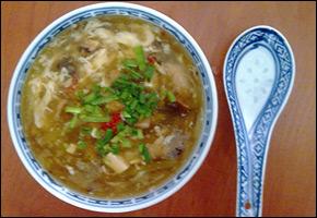 Čínska ostro-kyslá polievka