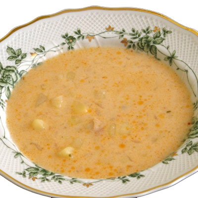 Manželkina kyslá zemiaková polievka