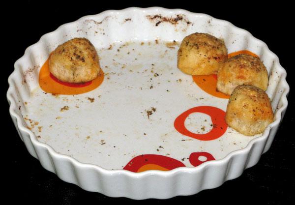 Silvestrovské pizza-guľky