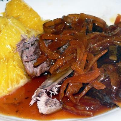 Z Bubuho kuhyne: Kačka s pomarančom (Le Canard á l´orange)