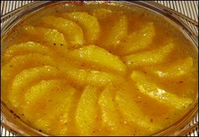 Korenisté zapečené pomaranče