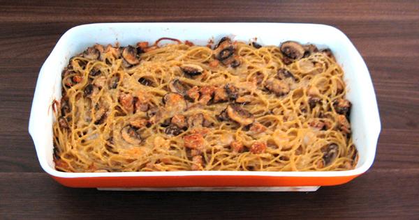 Špagety Tetrazzini