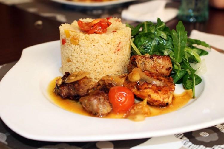 Jahňací pomarančovo – citronový steak s Cous – cous