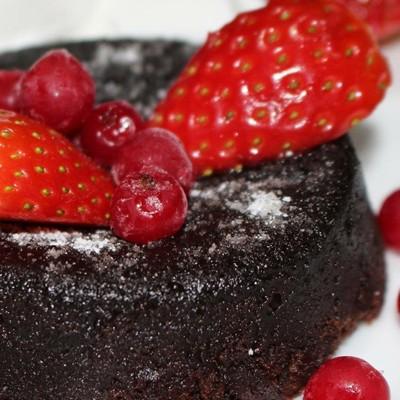 Čokoládový lávový koláčik – Chocolate  lava cake